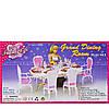 Мебель для кукол Gloria Столовая