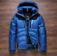 Мужской зимний лыжный пуховик.  Мужская зимняя куртка. Модель 962