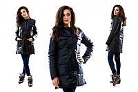 Женская  удлиненная куртка евро-зима