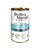 Dolina Noteci PREMIUM Junior Консервы для щенков мелких пород с ягненком и овощами 0,4 kg