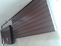 Профнастил стеновой коричневый в наличии
