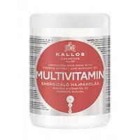 Маска для волос Kallos MULTIVITAMIN с экстрактом женьшеня и маслом авокадо