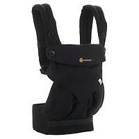 Эрго-рюкзак Four Position Ergobaby 360 Baby Carrier PURE BLACK в коробке с инструкцией