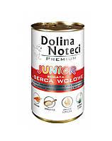 Dolina Noteci PREMIUM Junior Консервы для щенков с говядиной и овощами 0,4 kg