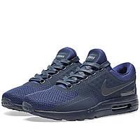 Оригинальные  кроссовки Nike Air Max Zero QS Binary Blue & Obsidian