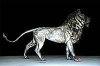 Купить кованую скульптуру льва в Херсоне