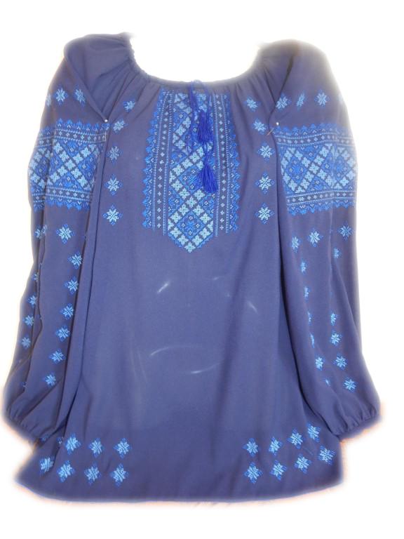 """Жіноча вишита блузка """"Касандра"""" (Женская вышитая блузка """"Касандра"""") BL-0075"""