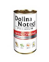 Dolina Noteci PREMIUM Консервы для собак с говядиной, овощами и рисом 0,4 kg