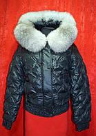 Женская зимняя курточка с Чернобуркой