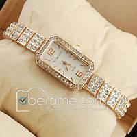 Часы наручные King girl diamond Pink gold/White