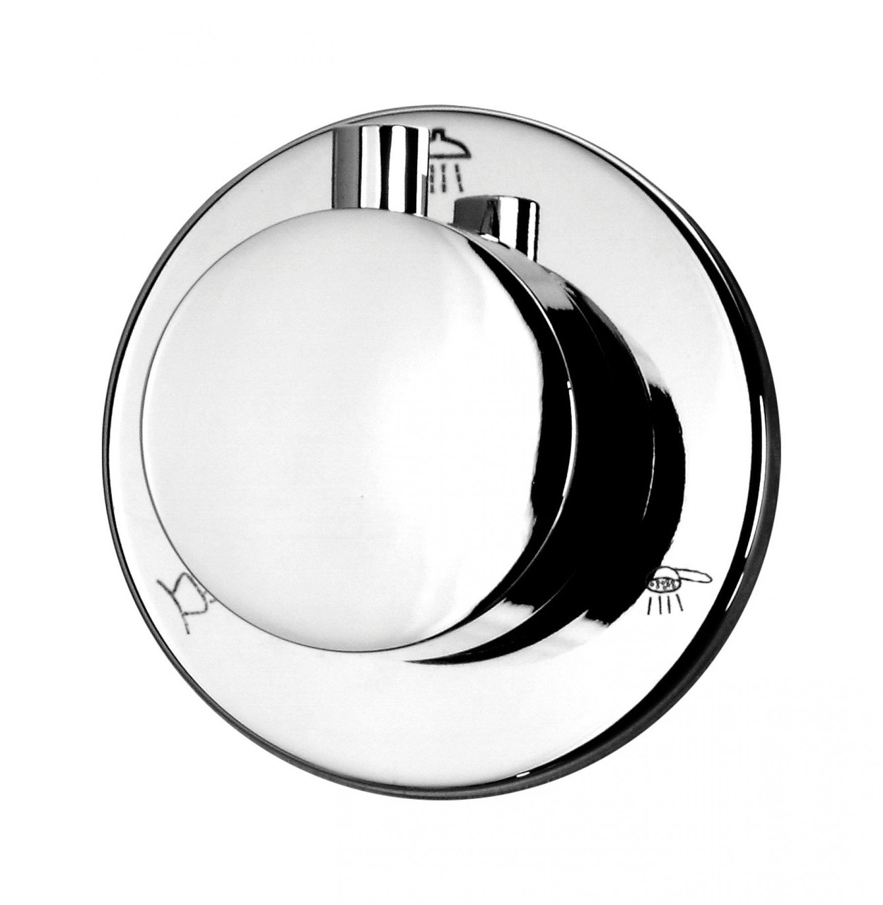 Перемикач функцій душа Deante MULTI-SYSTEM, 3-функціональний, круглий