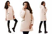 Женское кашемировое пальто евро-зима