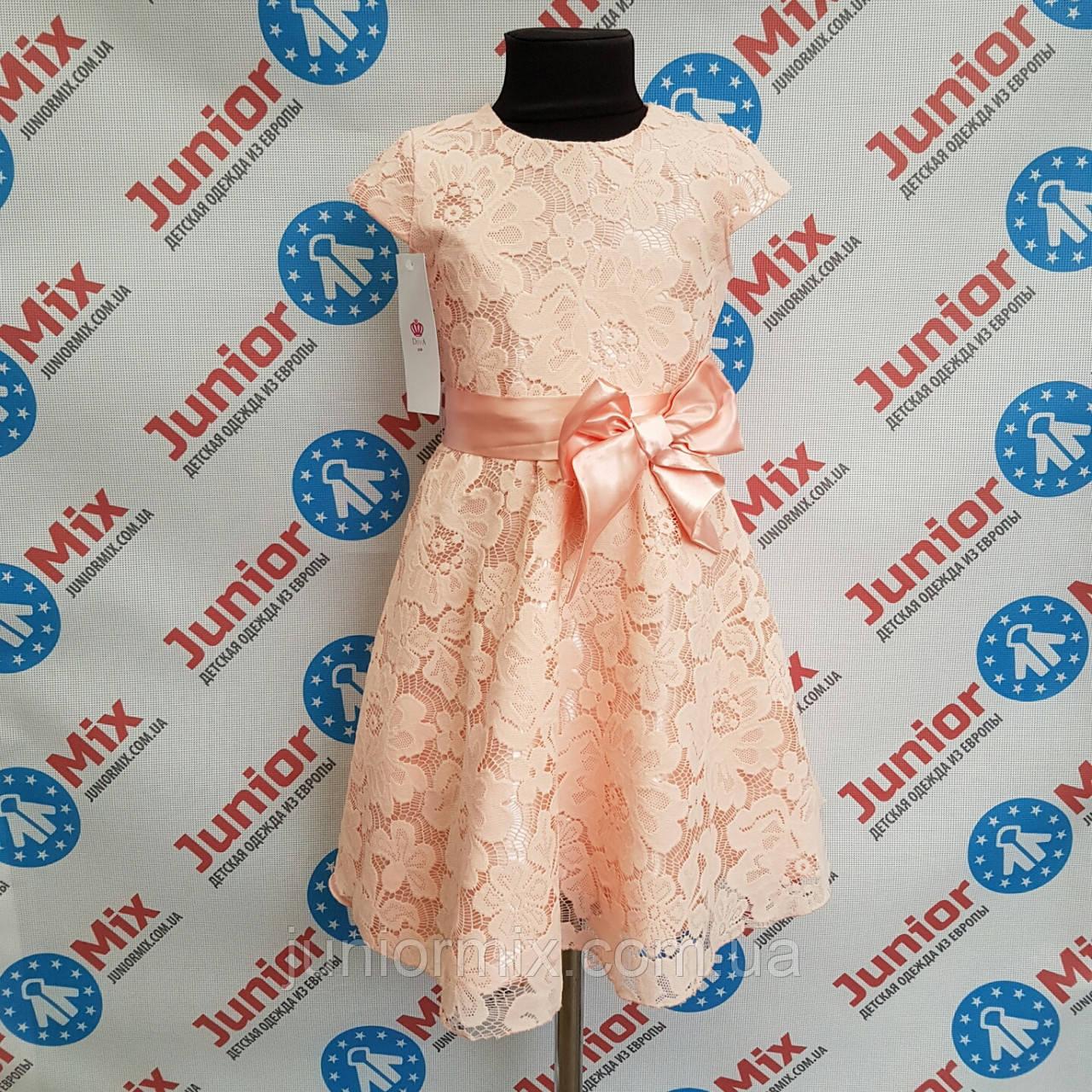 Платье на девочку подросток гипюровое DEVA.ПОЛЬША.