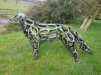 Изготовление и продажа кованых скульптур животных и птиц на заказ в Херсоне