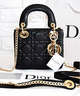 Женская сумка LADY DIOR MINI WITH CHAIN (2270)