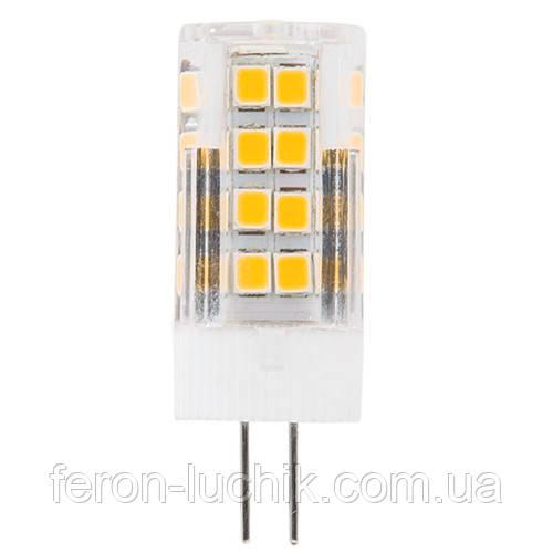 Светодиодная лампа G4 LED Feron LB-423 4W 230V 2700K/4000K (капсула)