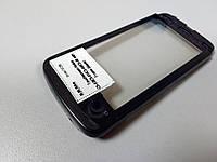 Тачскрин (сенсор) с передней панелью для Nokia C5-03, C5-01, C5-04, C5-06 (black) Original