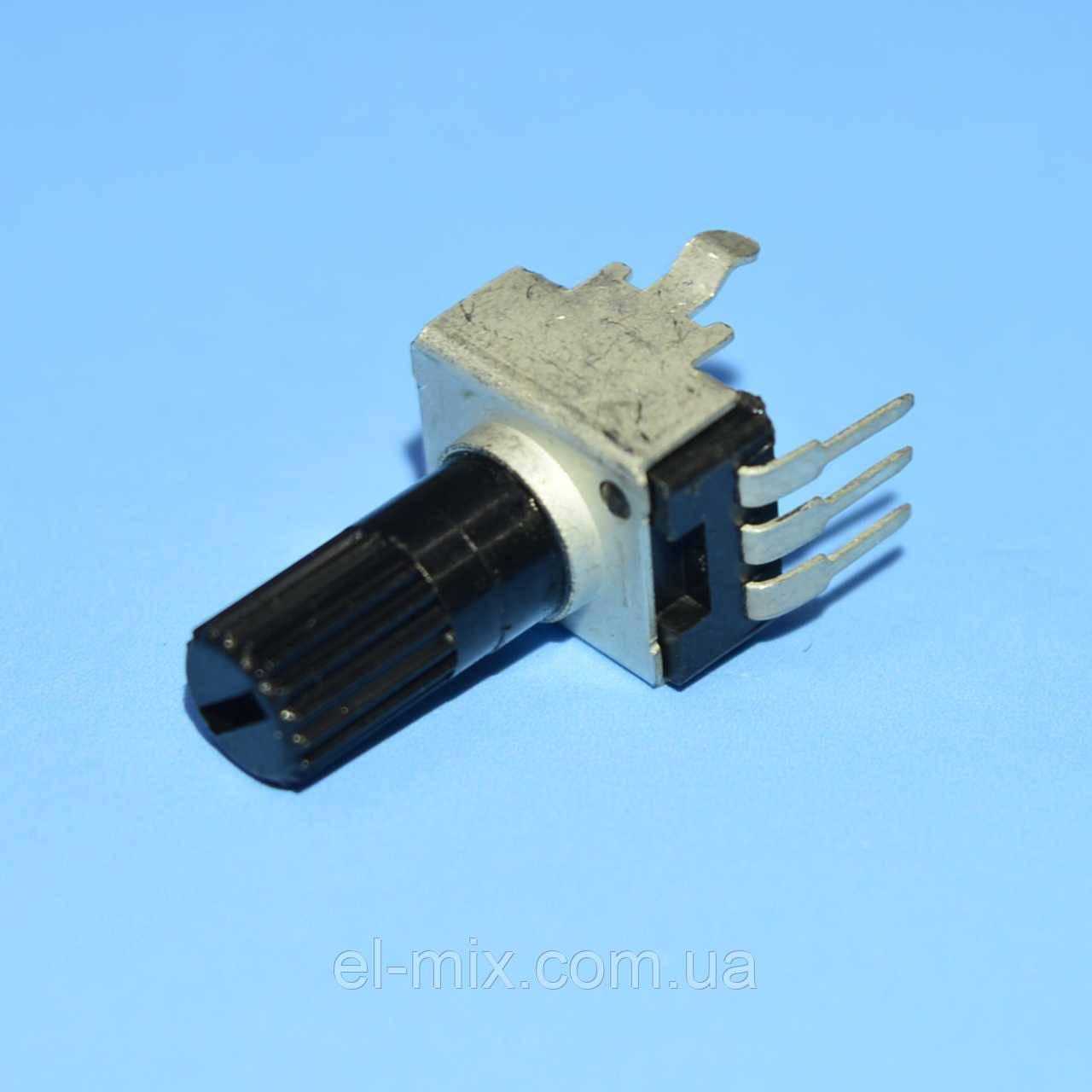 Резистор переменный R0902N 3pin  B1МОм L-20 вертик. регулировка, Китай