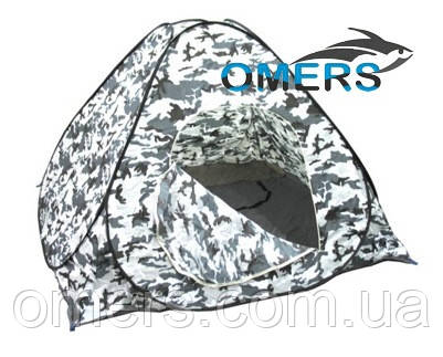 Зимняя Палатка автомат 2*2м белый КМФ