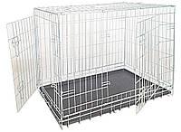 Croci Клетка для собак складная, 2 входа, цинк 78*55*62см (C2D00052)