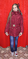 Стильная зимняя куртка Burberry