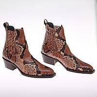 Обувь женская из питона 37 размер William
