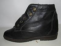 Итальянские теплые ботинки -Кожа _ 37р _23.5 К3