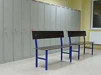 Скамейки для раздевалок ДСП ламинированное