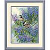 Dimensions Синички и сирень Chickadees and Lilacs Набор для вышивки крестом 35258