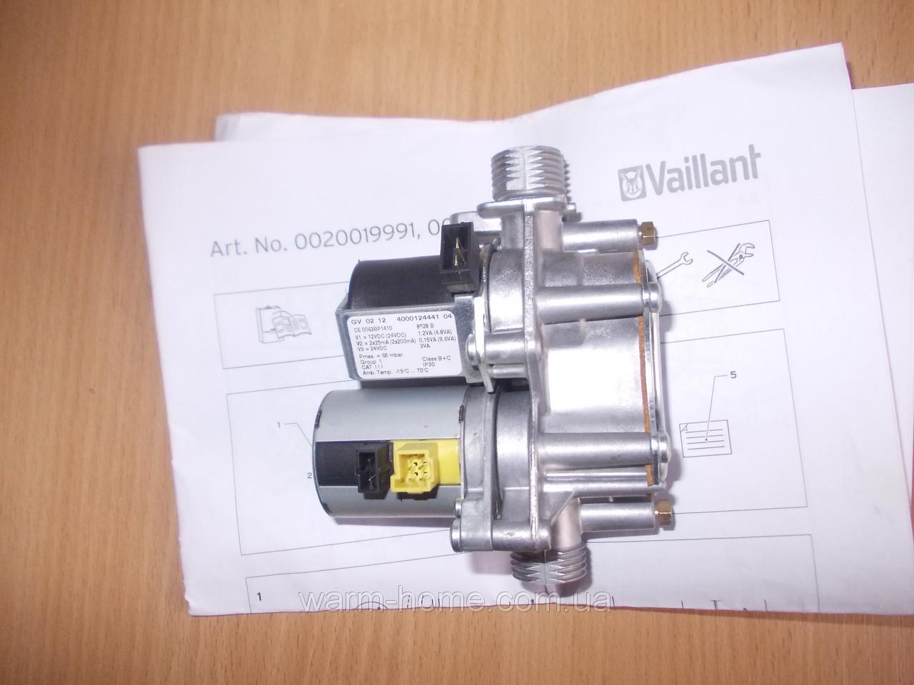 Газовый клапан  GV02 12 4000124441 CE 0063BP1410  Vaillant