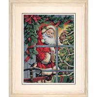 Dimensions Конфетка для Санты Candy Cane Santa Набор для вышивки крестом 8734