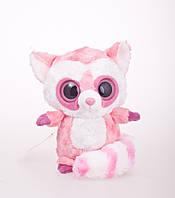 Плюшевая игрушка Лемур розовый