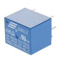 Реле SRD-12VDC-SL-C управление 12В нагрузка 250В 10А