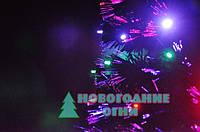 Искусственная елка, оптоволоконная 90 см, с верхушкой звезда