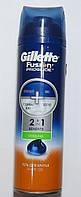Гель для бритья Gillette Fusion ProGlide  2в1 Benefits Cooling 200 мл, фото 1