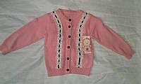 Кофта детская для девочки 1-5 года,розовая, фото 1