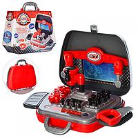 Детский игровой набор инструментов в чемодане