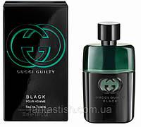Мужская туалетная вода Gucci Guilty Black Pour Homme (Гучи Гилти Блек) AAT