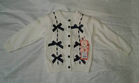 Кофта детская для девочки 1-5 года,белая, фото 1