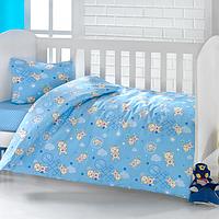 Постельное белье для новорожденных Brielle  503 blu