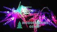 Гирлянда LED RGB с насадкой Сосулька 40 ламп - 4,5 м., фото 1