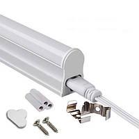 Свет-к LEMANSO LED 4W T5 3PIN 6500K 290LM +выключатель+13,5cм сетевой шнур LM963-4