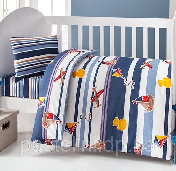 Постельное белье для новорожденных Brielle 506 blu