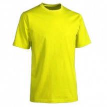 Футболка желтая хлопковая, фото 2