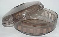 Хлебница пластмассовая круглая, фото 1
