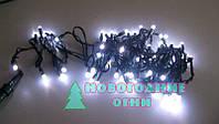 Наружная светодиодная гирлянда Стринг Лайт (String-Light) 100 LED 10 м., белый