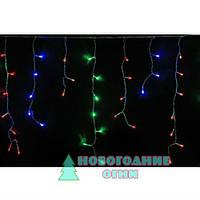 Гирлянда LED  Бахрома  (ICICLE LIGHT), мультицвет  3.*0,5 м