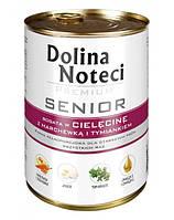 Dolina Noteci PREMIUM Senior Консервы для пожилых собак с телятиной, морковью и тимьяном 0,4 kg