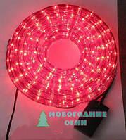Дюралайт RL light rope на микролампах, красный - 8 м.