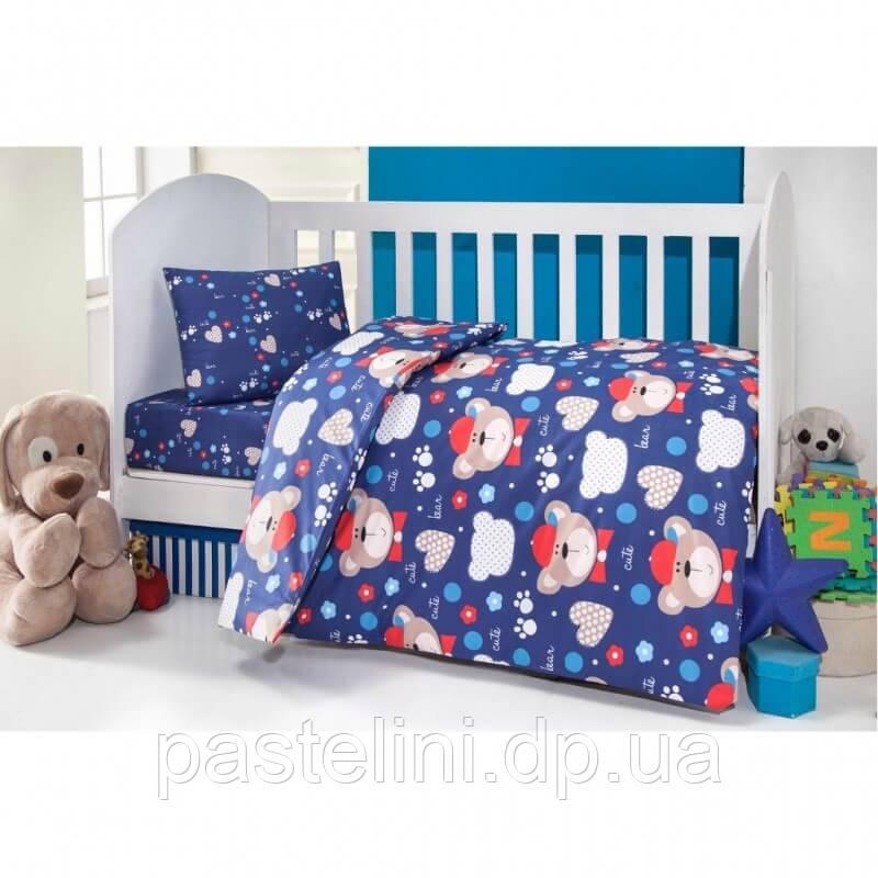 Постельное белье для новорожденных Brielle 457 blu